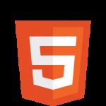 Das offizielle HTML5 Logo, für mehr Informationen siehe http://www.w3.org/html/logo/